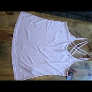Strappy work out tank NWT